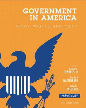 9780205865611-0205865615-Government in America: People, Politics, and Policy, 2012 Election Edition (16th Edition)