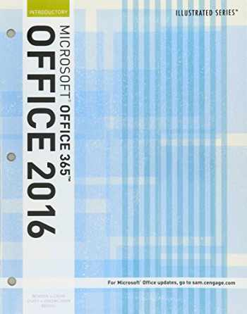 9781337206259-1337206253-Bundle: Illustrated Microsoft Office 365 & Office 2016: Introductory, Loose-leaf Version + SAM 365 & 2016 Assessments, Trainings, and Projects with 1 MindTap Reader Multi-Term Printed Access Card