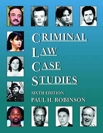 9781647085209-1647085209-Criminal Law Case Studies (Coursebook)