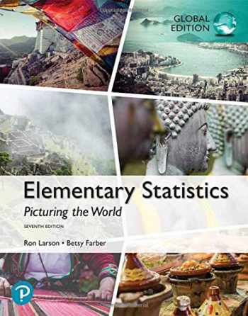 9781292260464-1292260467-Elementary Statistics: Picturing the World, Global Edition
