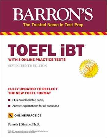 9781506266077-150626607X-TOEFL iBT: with 8 Online Practice Tests (Barron's Test Prep)