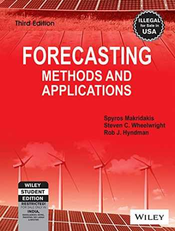9788126518524-8126518529-Forecasting Methods and Applications