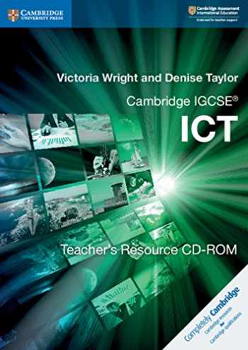 9781316627419-1316627411-Cambridge IGCSE® ICT Teacher's Resource CD-ROM (Cambridge International IGCSE)