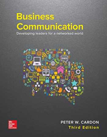 9781259694516-1259694518-Business Communication: Developing Leaders for a Networked World