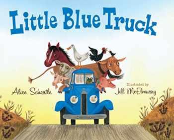 9780547482484-0547482485-Little Blue Truck big book
