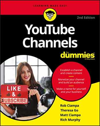 9781119688051-1119688051-YouTube Channels For Dummies, 2nd Edition (For Dummies (Computer/Tech))