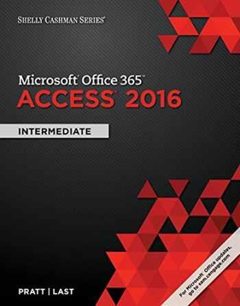 9781305870628-130587062X-Shelly Cashman Series Microsoft Office 365 & Access 2016: Intermediate