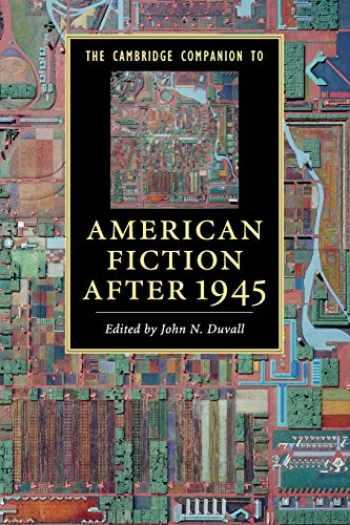 9780521123471-052112347X-The Cambridge Companion to American Fiction after 1945 (Cambridge Companions to Literature)
