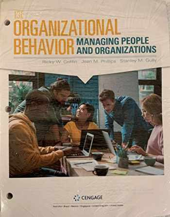 9781337916981-1337916986-Organizational Behavior: Managing People and Organizations (MindTap Course List)