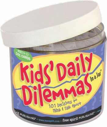 9781575429151-1575429152-Kids' Daily Dilemmas in a Jar: 101 Decisions to Think & Talk About