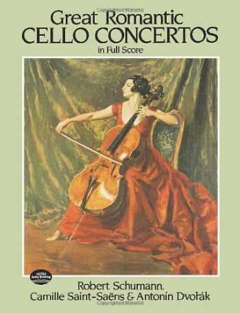 9780486245843-0486245845-Great Romantic Cello Concertos in Full Score (Dover Music Scores)