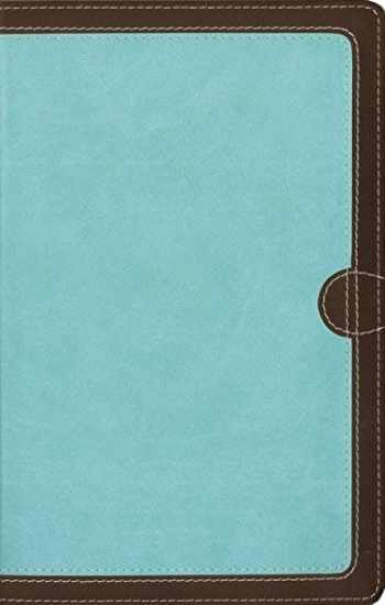 9780310448891-0310448891-NIV, Thinline Bible, Leathersoft, Teal/Brown, Red Letter, Comfort Print