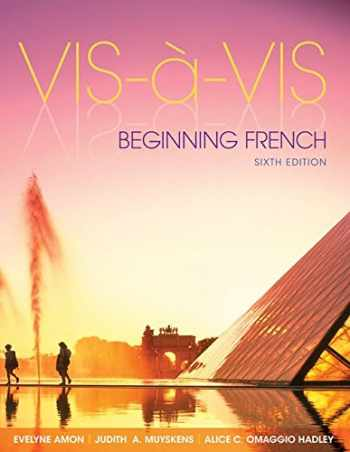 9781259678011-1259678016-Vis-à-vis: Beginning French (Student Edition) with Connect Access Card