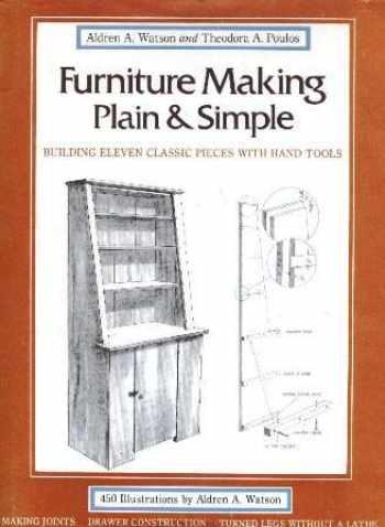 9780393018127-0393018121-Furniture making plain & simple