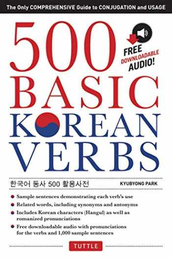 9780804842051-0804842051-500 Basic Korean Verbs: The Only Comprehensive Guide to Conjugation and Usage