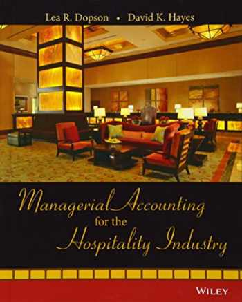 9780471723370-0471723371-Managerial Accounting for the Hospitality Industry