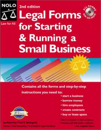 9780873376341-087337634X-Legal Forms for Starting and Running a Small Business (2nd ed.)