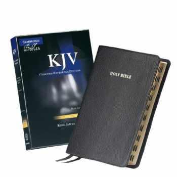 9781107602663-1107602661-KJV Concord Reference Bible, Black Calf Split Leather, Red-letter Text, Thumb Index, KJ564:XRI
