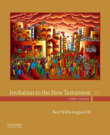 9780190491949-0190491949-Invitation to the New Testament: First Things