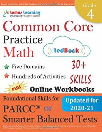 9781940484440-1940484448-Common Core Practice - Grade 4 Math: Workbooks to Prepare for the PARCC or Smarter Balanced Test: CCSS Aligned (CCSS Standards Practice) (Volume 4)