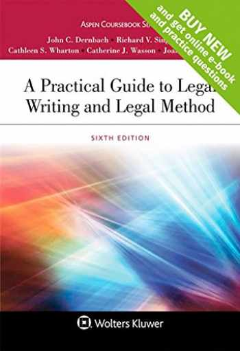 9781454880813-1454880813-A Practical Guide to Legal Writing and Legal Method [Connected Casebook] (Aspen Coursebook)