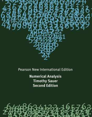 9781292023588-1292023589-Numerical Analysis: Pearson New International Edition