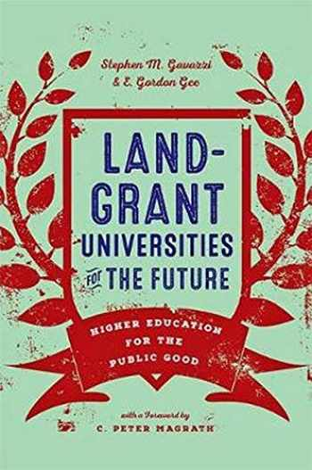 9781421426853-1421426854-Land-Grant Universities for the Future: Higher Education for the Public Good