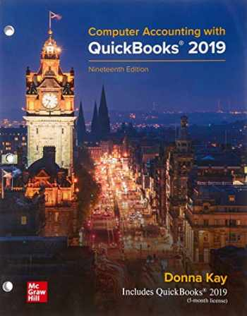 9781264014156-1264014155-GEN COMBO LL COMPUTER ACCOUNTING W/QUICKBOOKS 2019; CONNECT ACCESS CARD