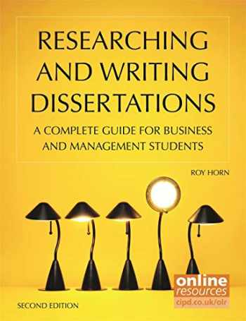 9781843983026-1843983028-Researching and Writing Dissertations: A Complete Guide for Business and Management Students