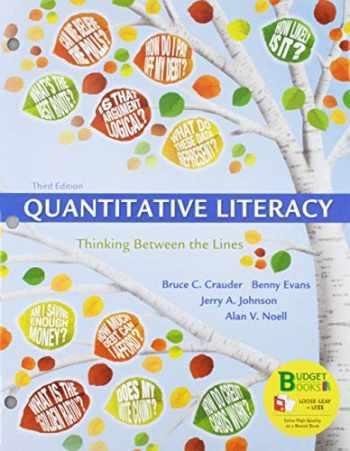 9781319187484-131918748X-Loose-leaf Version for Quantitative Literacy & WebAssign Premium Homework with e-Book for Quantitative Literacy (Six-Month Access)