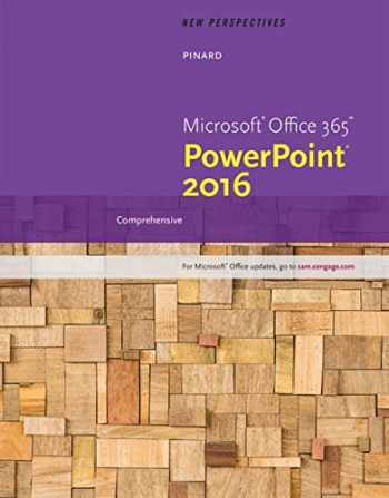 9781305881235-1305881230-New Perspectives Microsoft Office 365 & PowerPoint 2016: Comprehensive