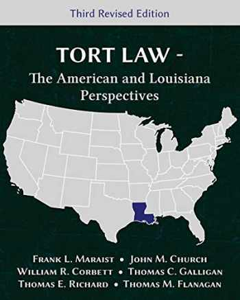 9781600422904-160042290X-Tort Law - The American and Louisiana Perspectives, Third Revised Edition