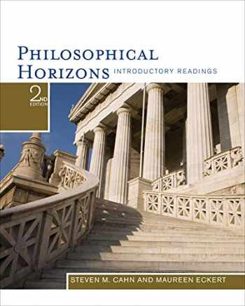9781111186531-1111186537-Philosophical Horizons: Introductory Readings