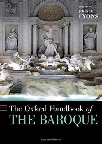 9780190678449-0190678445-The Oxford Handbook of the Baroque (Oxford Handbooks)