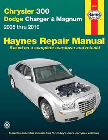 9781620920084-1620920085-Title Chrysler 300 - Dodge Charger & Magnum: 2005 thru 2010 (Haynes Repair Manual)