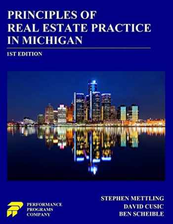 9780915777174-0915777177-Principles of Real Estate Practice in Michigan
