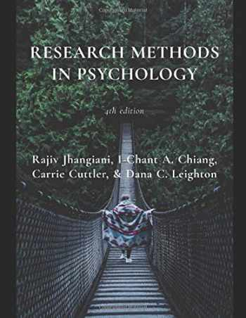 9781085976923-1085976920-Research Methods in Psychology: 4th edition