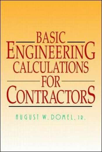 9780070180024-0070180024-Basic Engineering Calculations for Contractors