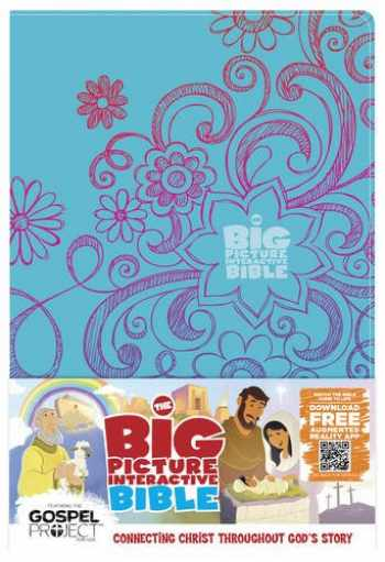 9781433616686-1433616688-The Big Picture Interactive Bible for Kids, Doodles LeatherTouch: Connecting Christ Throughout God's Story (The Big Picture Interactive / The Gospel Project)