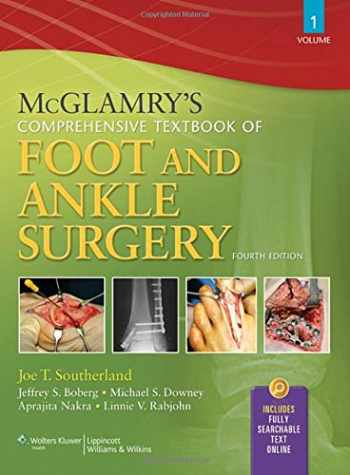9780781765800-0781765803-McGlamry's Comprehensive Textbook of Foot and Ankle Surgery, Volume 1 and Volume 2