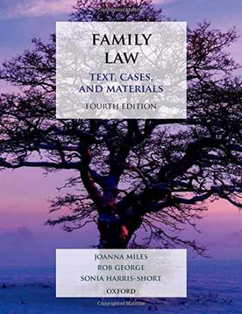9780198811848-0198811845-Family Law: Text, Cases, and Materials