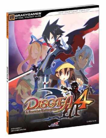 9780744013184-0744013186-Disgaea 4 Official Strategy Guide (Bradygames Strategy Guides)