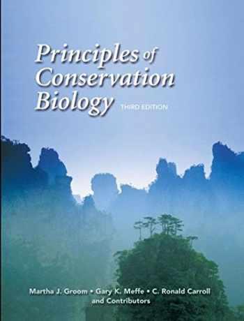 9780878935970-0878935975-Principles of Conservation Biology