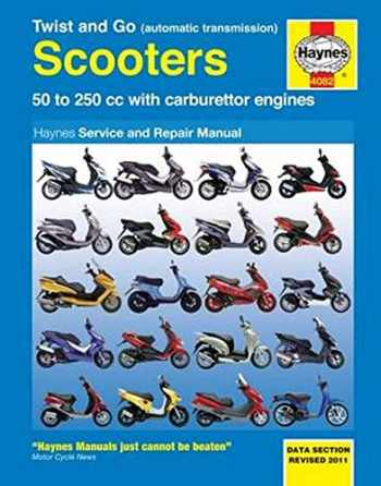 9781844259205-184425920X-Twist and Go Scooters: 50 to 250 cc with Carburetor Engines (Haynes Manuals)