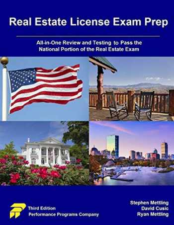 9780915777372-0915777371-Real Estate License Exam Prep: All-in-One Review and Testing to Pass the National Portion of the Real Estate Exam