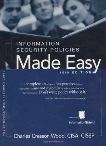 9781881585138-1881585131-Information Security Policies Made Easy, Version 10