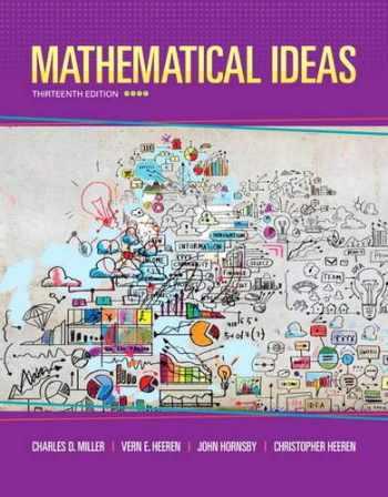 9780321977076-0321977076-Mathematical Ideas (13th Edition) - Standalone book