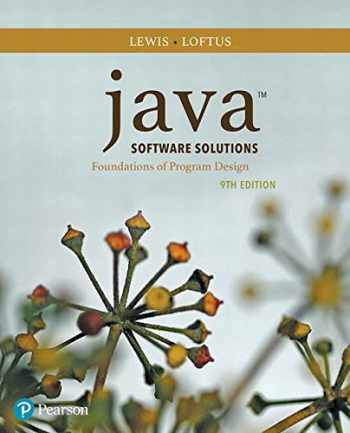 9780134462028-0134462025-Java Software Solutions (9th Edition)