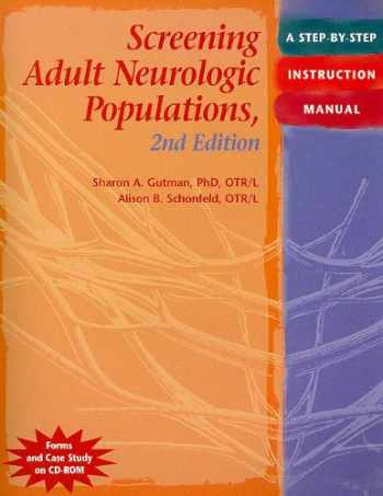 9781569002575-1569002576-Screening Adult Neurologic Populations: A Step-by-Step Instruction Manual, 2nd Edition