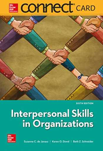 9781260141344-1260141349-Connect Access Card for Interpersonal Skills in Organizations